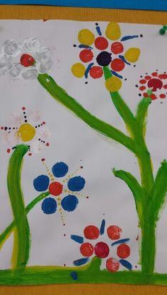 Spring paintings.