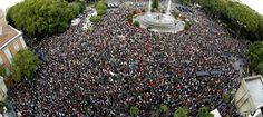 El 15-M vuelve a rodear el Congreso para denunciar la Ley de Seguridad Ciudadana - Noticias de España
