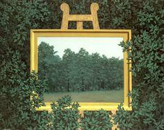 La cascada, 1961 - René Magritte
