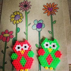 Owls hama bead by lisabruun