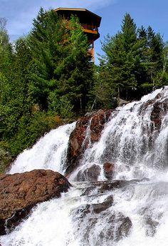 Waterfalls / La Tuque / Quebec / Canada