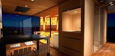 Monaco luxury sauna house