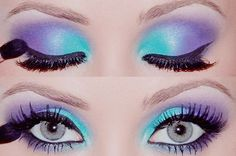 <3 blue and purple