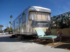 nice polish  1954 Spartan Manor - Palm Springs 2010 by Vintage Roadside, via Flickr