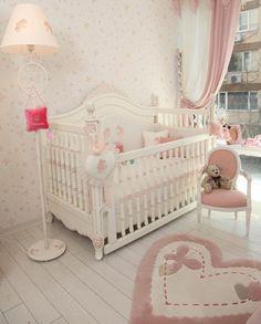 Vintage bebek odası