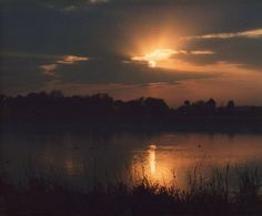 My most amazing photo of all time. Sunrise on Lake Lloyd through a chain link fence on the infield of Daytona Speedway during the 24 Hours of Daytona. Woke up to answer the call of nature at the right time and place! The backstretch was just past the berm on the far side of the lake. This was from '85, '86 or '87.