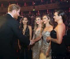 Prince Harry and Little Mix