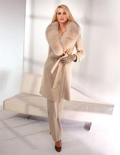 Модные женские кашемировые пальто 2016