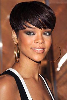 Black Hairstyles For Short Hair Women ~ http://wowhairstyle.com/black-hairstyles-for-short-hair/