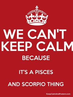 Scorpio and Pisces Pisces And Scorpio Compatibility, Pisces Traits, Pisces Sign, Zodiac Signs Scorpio, Pisces Quotes, Zodiac Sign Traits, Zodiac Star Signs, Astrology Signs, Scorpio And Pisces Relationship
