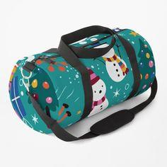 Work Travel, Christmas Snowman, Chiffon Tops, Shoulder Strap, Santa, Backpacks, Space, Printed, Awesome