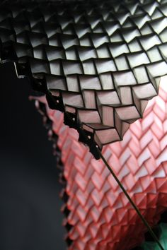 OriMetric – new rubber origami driven material exploration // by Mads Hansen