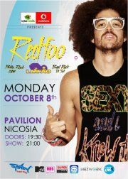 Redfoo of LMFAO and the Party Rock Crew @ Pavilion (Nicosia)