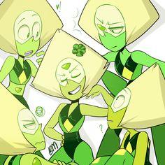 Peridot's sisters, Steven Universe