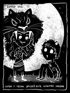 Horror is... by Zankat91.deviantart.com on @DeviantArt