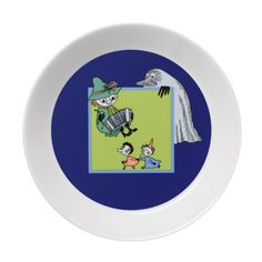 Spring melody Moomin plate.