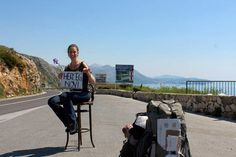 Indie Voyager: WHAT DOES IT TAKE TO BE A SINGLE WOMAN HITCHHIKER?... #travel #hitch-hiking #croatia