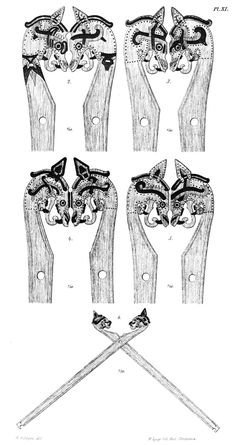 Norse Gable Ends - House Drekka-lundr: Viking A-Frames Part II
