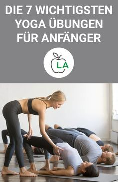 7 Yoga Übungen für Anfänger – Die besten Asanas für Einsteiger Our beginner yoga exercises are perfect for those who want to start this healthy sport. Learn now with images, which asanas are especially recommended for yoga beginners and get valuable tips. Yin Yoga, Bikram Yoga, Yoga Meditation, Fitness Workouts, Fitness Del Yoga, Physical Fitness, Fun Workouts, Training Fitness, Fitness Goals