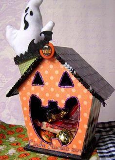 Halloween Candy Box