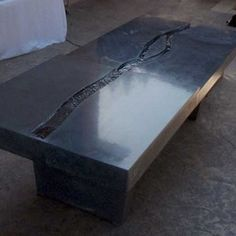 WaterFall Table.....5 Feet from the Moon - Concrete - Furniture