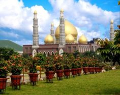 Masjid Kubah Emas or Masjid Dian Al-Mahri ( Indonesia)