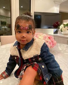 Khloe Kardashian And Tristan, Kardashian Jenner, Jenner Kids, Kris Jenner, Designer Baby Clothes, Cute Kids Fashion, Cute Celebrities, Celebrity Babies, Pretty Baby