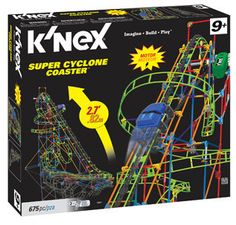 K'NEX Super Cyclone Coaster only $19.97 w/ FREE In-Store Pick Up! (reg $49.97)
