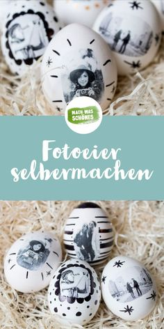 Photo eggs - make your own Easter eggs - Ostern: DIY Ostergeschenke & Osterdeko - Crafts Pot Mason Diy, Mason Jar Crafts, Diy Hanging Shelves, Diy Wall Shelves, Wallpaper Marvel, Diy Cadeau, Egg Designs, Mason Jar Lighting, Wine Bottle Crafts