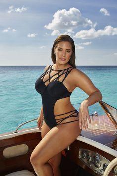 9639cf30cf531 Ashley Graham x Swimsuitsforall Liason Maillot Chicas En Bikini
