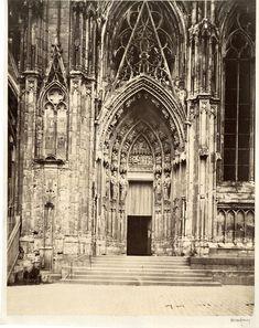 France, strasbourg, the cathedral vintage albumen print tirage. albumen  | eBay