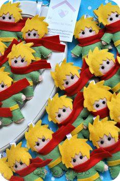 Casinha de Pano: Pequeno Príncipe Little Prince Party, The Little Prince, Felt Crafts Patterns, Prince Birthday, Polymer Clay Figures, Felt Fabric, Boy Doll, Soft Dolls, Felt Art