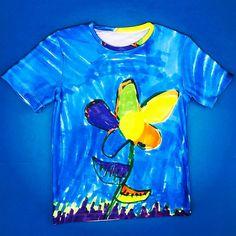 BlueTEEful 🌸🌻🌼❤  #picturethisclothing   #wehavetshirtsnow #picturethis #wearyourimagination #kidfashion #kidart