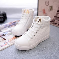 Girls Sneakers, Girls Shoes, High Top Sneakers, Women's Sneakers, Ladies Shoes, Clarks, Streetwear Shoes, Casual Trainers, Funky Shoes