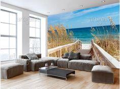 Fotomural Summer at the Seaside  #fotomural #fotomurales #wallpapers #seaside #see