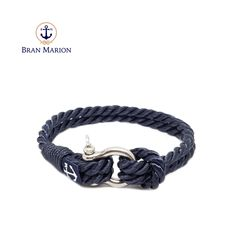 Cliffs of Moher Nautical Bracelet Nautical Bracelet, Nautical Jewelry, Everyday Look, Everyday Fashion, Marine Rope, Azul Real, Cliffs Of Moher, Davy Jones, Sailors