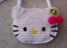 uploaded this image to & See the album on Photobucket. Crochet Eyes, Crochet Baby Beanie, Crochet Motifs, Crochet Stitches Patterns, Baby Knitting, Knitting Patterns, Hello Kitty Amigurumi, Crochet Hello Kitty, Chat Hello Kitty