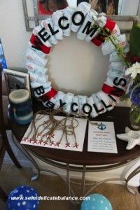 baby shower time nautical baby shower ideas and decorations anchors