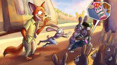 Nick meets Judy's family