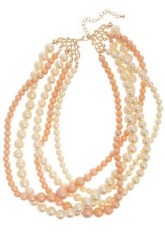 13. matching modcloth accessories #modcloth #wedding (love the peachy pink accents)