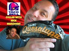 Taco Bell's® Quesalupa REVIEW with Nick Manzione!