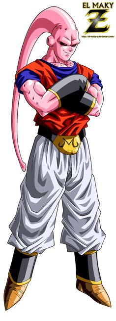 Super Buu (Gohan Absorbed) by el-maky-z.deviantart.com on @DeviantArt