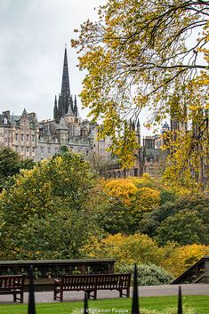 Foliage a Edimburgo: dove vedere i colori autunnali Scotland, Fall, Edinburgh, Fotografia, Beautiful Landscapes, Nice Asses, Autumn