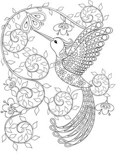 20 Free Printable Adult Coloring Book Pages