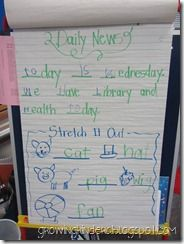 Great morning message ideas from Growing Kinders