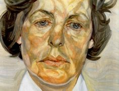 Lees over Lucian Freud