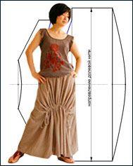 Тайская юбка