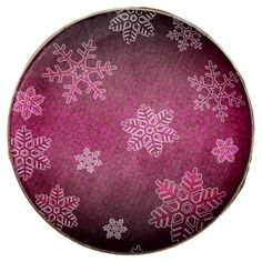 Christmas Elegant Pattern Chocolate Dipped Oreo