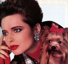 Lancome, American Vogue, September 1987.