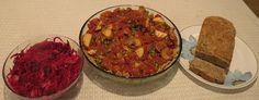 Russian cabbage, Hungarian goulash, basil oregano bread--all dishes in upcoming Vila SpiderHawk cookbooks.